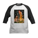 Fairies & Golden Kids Baseball Jersey