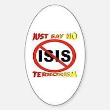 No ISIS Symbol Decal