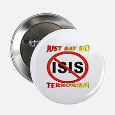 """No ISIS Symbol 2.25"""" Button"""