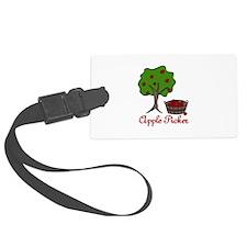 Apple Picker Luggage Tag