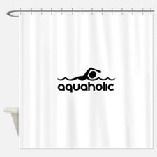 Aquaholic Shower Curtain