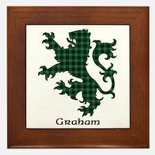 Lion - Graham Framed Tile