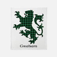 Lion - Graham Throw Blanket