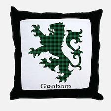 Lion - Graham Throw Pillow