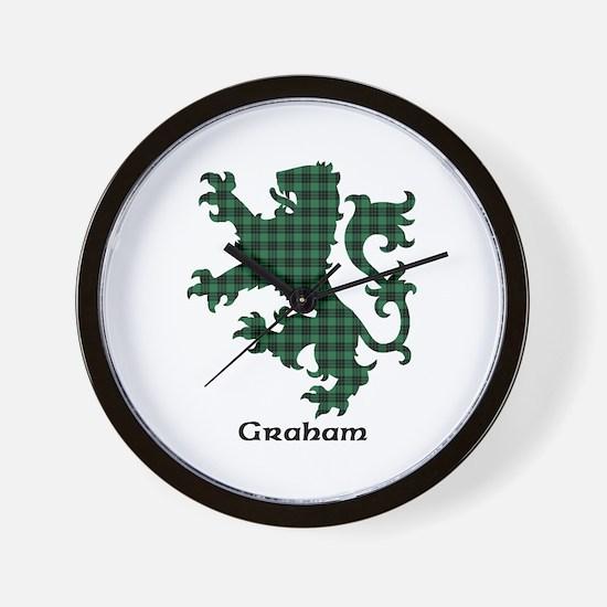 Lion - Graham Wall Clock