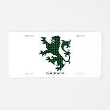 Lion - Graham Aluminum License Plate