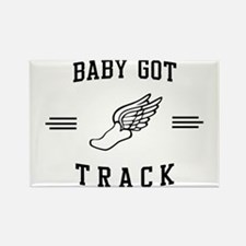 Baby got track Magnets