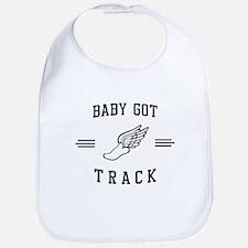 Baby got track Bib