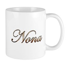 Gold Nona Mugs