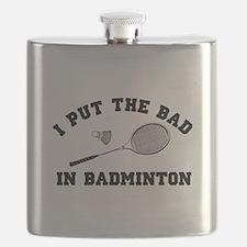 Bad in badminton 2 Flask
