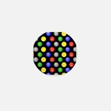 Bingo Balls Black Case.png Mini Button
