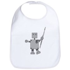 Flute Robot Bib