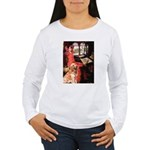 The Lady's Golden Women's Long Sleeve T-Shirt