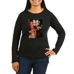 The Lady's Golden Women's Long Sleeve Dark T-Shirt