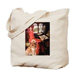 The Lady's Golden Tote Bag
