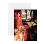 The Lady's Golden Greeting Cards (Pk of 10)
