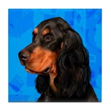 Gordon Setter Dog Tile Coaster