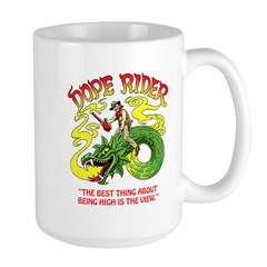 Dope Rider Large Mug