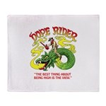 Dope Rider Throw Blanket