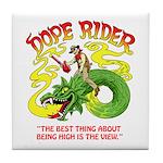 Dope Rider Tile Coaster