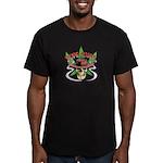 Dope Rider Men's Fitted T-Shirt (dark)