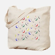 Bingo Ball swatch Tote Bag