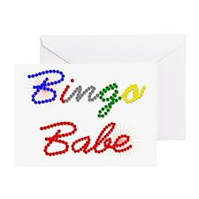 Bingo Babe Greeting Card