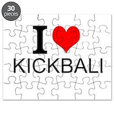 I Love Kickball Puzzle