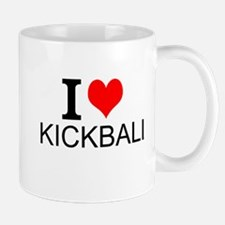 I Love Kickball Mugs