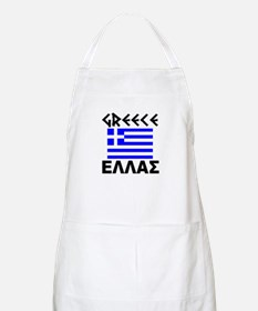 Greece BBQ Apron