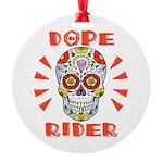 Dope Rider Round Ornament