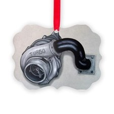 Turbo Charger Picture Ornament
