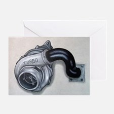 Turbo Charger Greeting Card