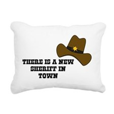 There is a new sheriff i Rectangular Canvas Pillow