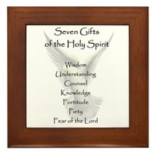Cute Spirit Framed Tile