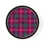 Tartan - Chisholm of Strathglass Wall Clock