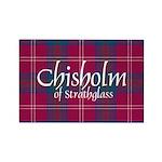 Tartan - Chisholm of Strathglass Rectangle Magnet