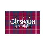 Tartan - Chisholm of St Rectangle Magnet (10 pack)