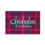 Tartan - Chisholm of S Rectangle Magnet (100 pack)