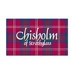 Tartan - Chisholm of Strathgl Rectangle Car Magnet