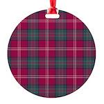 Tartan - Chisholm of Strathglass Round Ornament