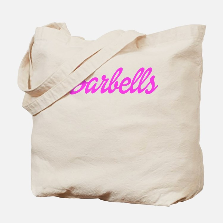 Barbell Babe Tote Bag