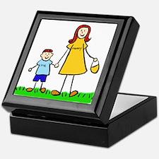 Mother and Son (Redhead) Keepsake Box