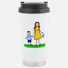 Mother and Son (Redhead) Travel Mug