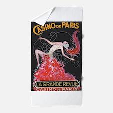 Casino de Paris Vintage Poster Beach Towel