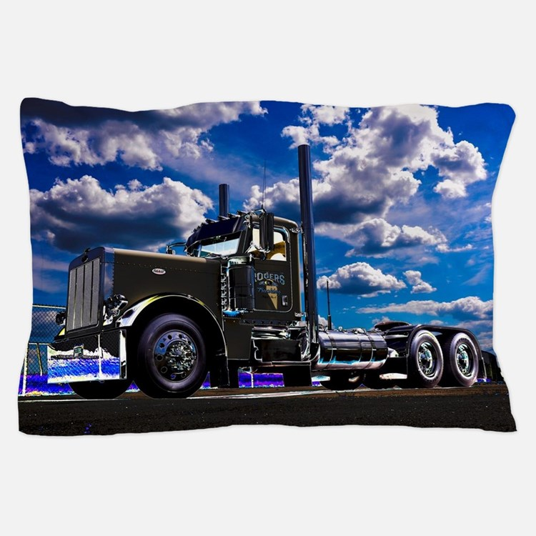 Cute Big rig Pillow Case