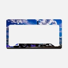 Cute Tractors License Plate Holder