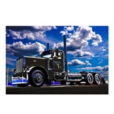 Funny Big rig Postcards (Package of 8)