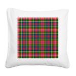 Tartan - Christie Square Canvas Pillow
