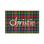 Tartan - Christie Rectangle Magnet (100 pack)